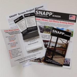 SNAPP Screen sample pack